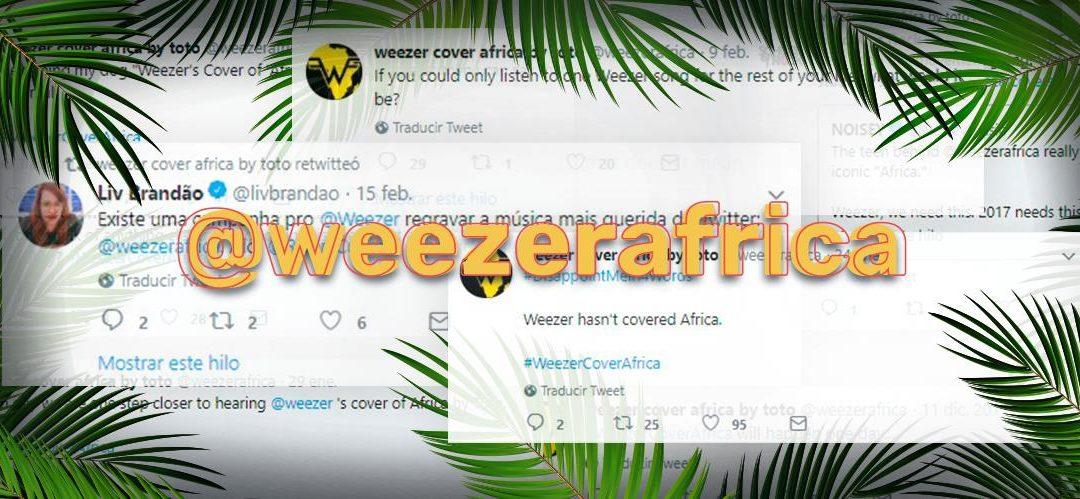 La historia detrás de Africa by Weezer #WeezerCoverAfrica